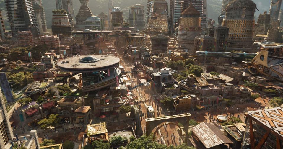 La última película de Marvel destaca en arquitectura