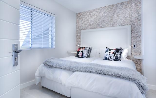 Habitación minimalista tendencias 2018
