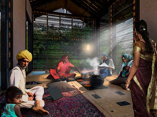 Casas prefabricadas en India
