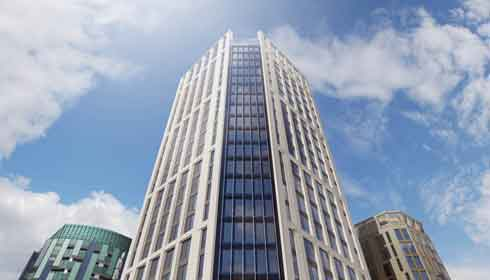 Edificio más alto de Europa es modular